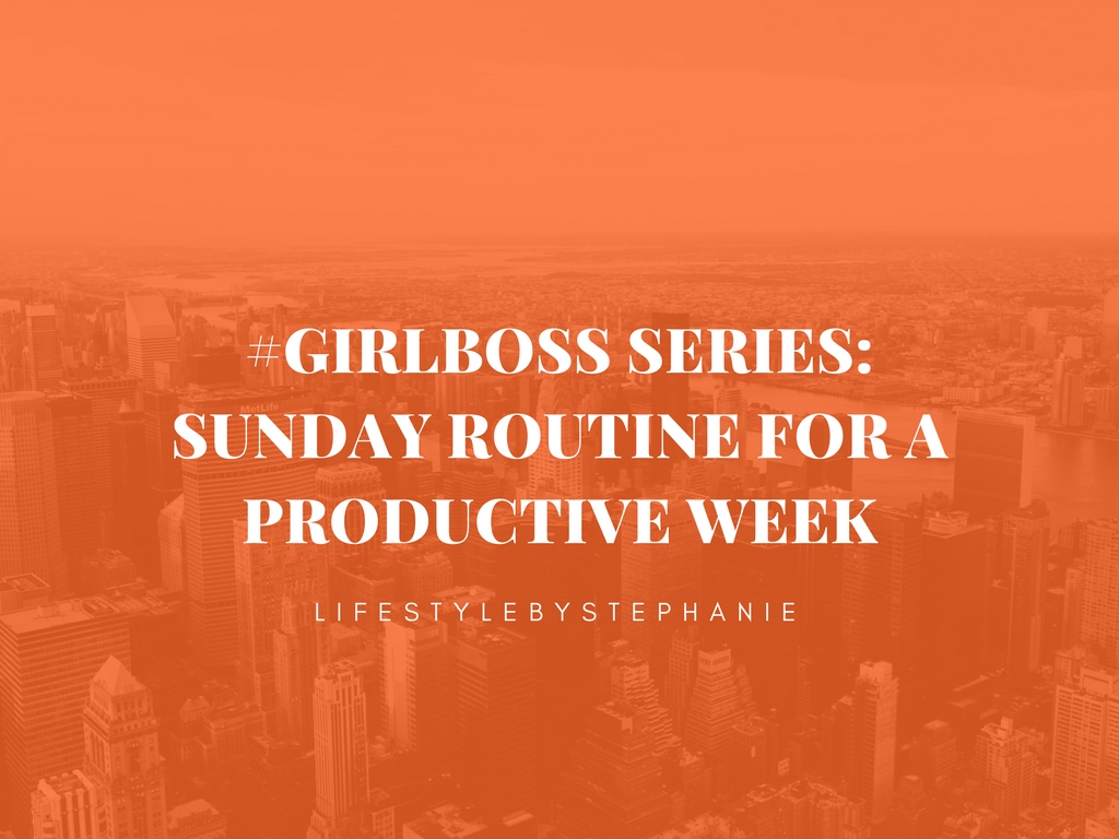 sunday-routine-productive-week