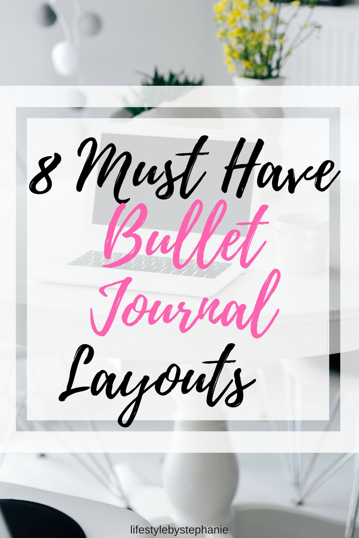 Bullet journals are key to having an organized life. You can track so many aspects of your life including your budget, habits, to-do lists, & more.
