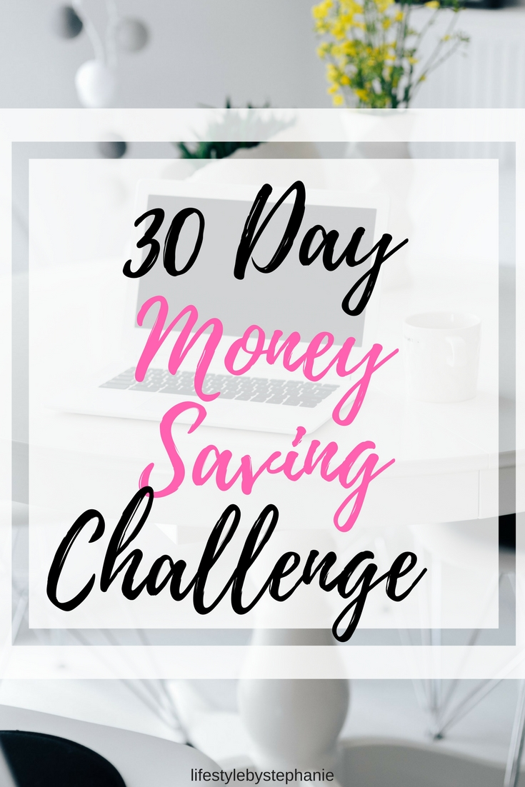 Here is the 30-day money saving challenge so that you can achieve your money goals. #moneysavingchallenge #savemoney